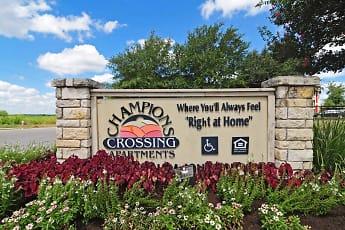 Community Signage, Champions Crossing - San Marcos, 0