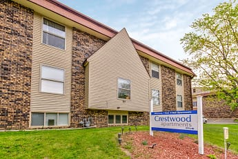 Building, Crestwood Apartments, 0
