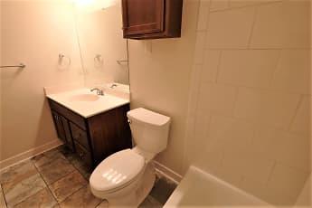 Bathroom, Stanley Terrace Apartments, 2