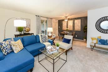 Living Room, Sherwood Crossing Apartments & Townhomes, 0