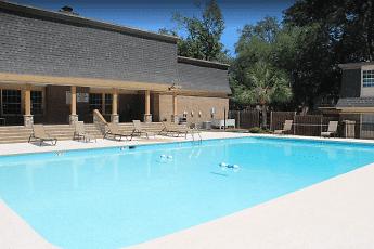 Pool, Westwood Apartments, 1