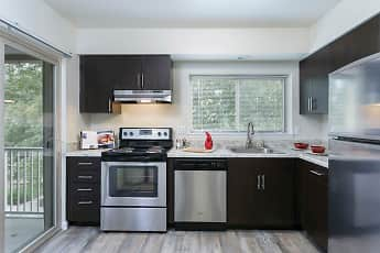 Kitchen, Top Field Apartments, 0