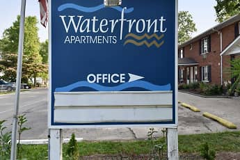 Community Signage, Waterfront Apartments, 2