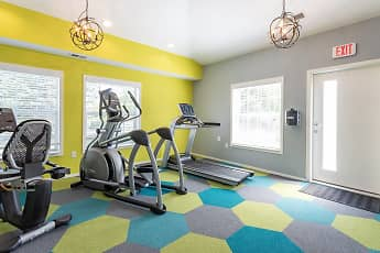 Fitness Weight Room, Arbor Club Apartments, 2