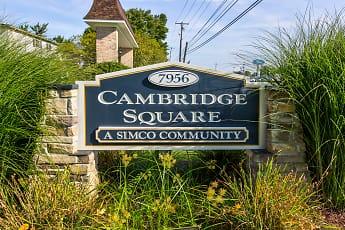 Community Signage, Cambridge Square Apartments, 2