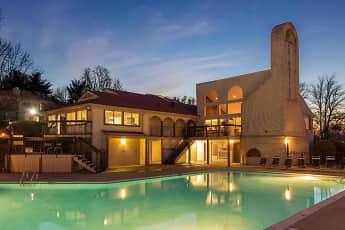 Pool, Chimney Top Apartments, 0