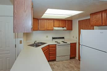 Kitchen, Stonehedge Apartments, 1