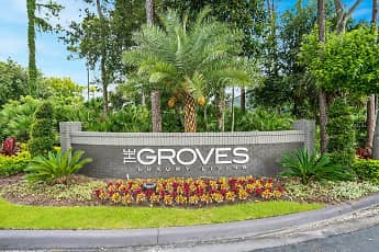 Community Signage, The Groves Apartments, 2