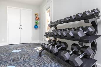 Fitness Weight Room, Summertrees Apartments, 2