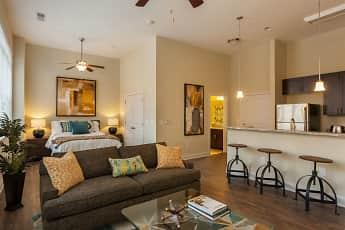 Living Room, Ayrsley Lofts, 0
