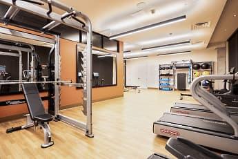 Fitness Weight Room, Jones Berkeley Apartments, 2