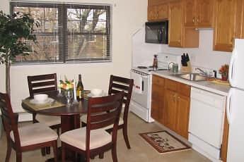 Kitchen, River Drive Apartments, 2