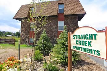 Community Signage, Straight Creek Apartments, 0