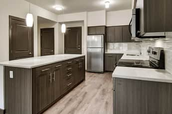 Kitchen, Tessera Apartments, 0