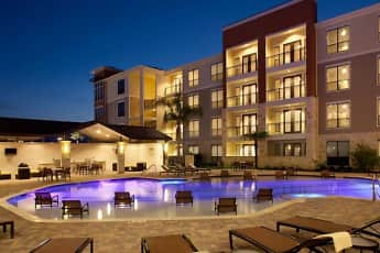 Pool, Residences at Pearland Town Center, 0
