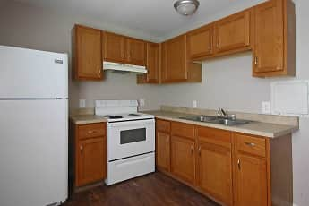 Kitchen, Morganfield Apartments, 0