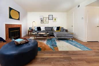 Living Room, Diamond Hillside Apartments, 0