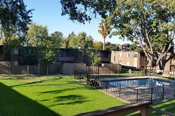 Courtyard, Pine Terrace, 0