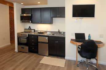 Kitchen, Holly Brook Apartments, 2