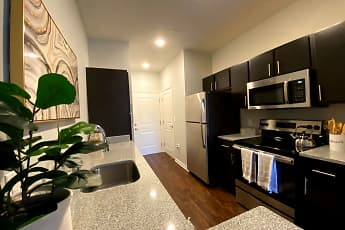 Kitchen, Wabash Landing Apartments, 0