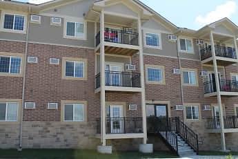 Building, Hilltop Apartments Senior Living, 1
