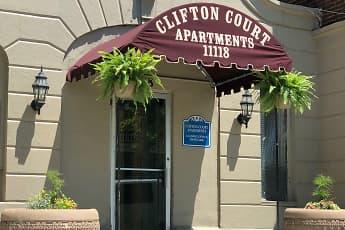 Community Signage, Clifton Court Apartments, 0