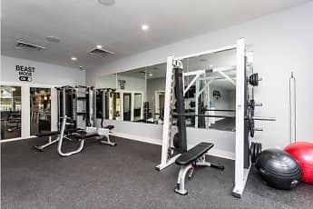 Fitness Weight Room, Bent Tree Apartments, 2