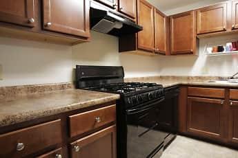 Kitchen, Canterbury Apartments, 0