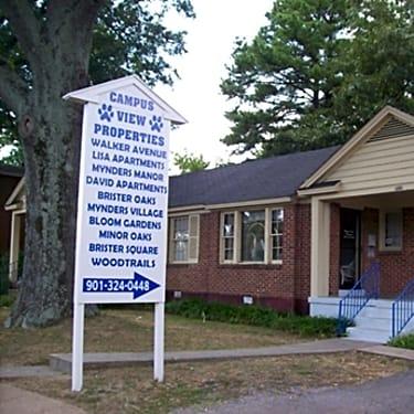 Campus View Properties 3606 Walker Avenue Memphis Tn Apartments