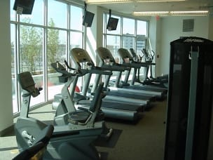 Beautiful Fitness Room