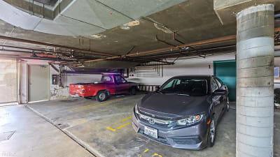 3 parking spaces