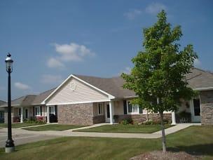 Each Building has 4 Cottages.