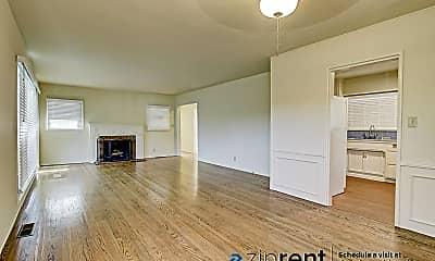 Living Room, 3747 Arbolada Road, 1