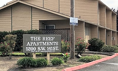 The Reef Apartments, 1