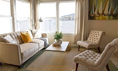 Living Room, 1728 The Strand 4, 1