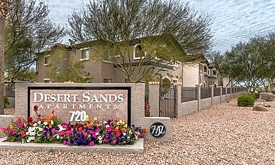 Community Signage, Desert Sands, 2
