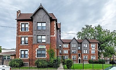 Building, 8951 South Ada Apartments, 1