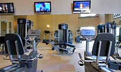 Fitness Weight Room, The Mark at Dulles Station, 2
