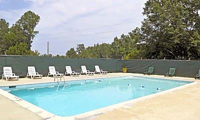 Pool, Huckleberry Hills Apartments, 0