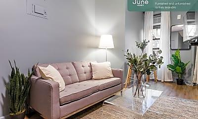 Living Room, 519 E 5th St, 0
