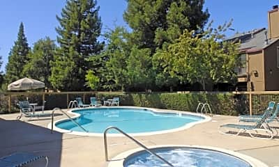 Pool, Heather Downs Apartments, 2