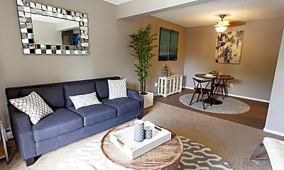 Living Room, Aviator Apartment Homes, 0