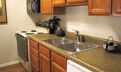 Kitchen, South Meadows Apartments, 2