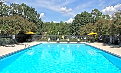 Pool, Hyde Park Townhomes, 0