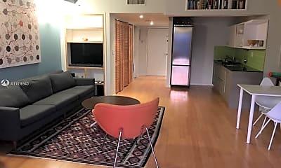 Living Room, 540 Brickell Key Dr 1807, 2