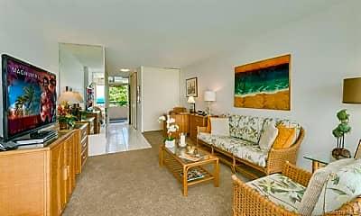 Living Room, 2877 Kalakaua Ave 203, 1