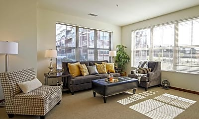 Living Room, Lilly Preserve Apartments, 1