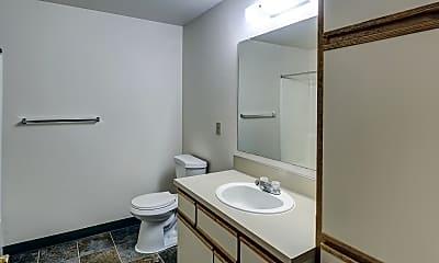 Bathroom, Centennial Park Apartments, 2
