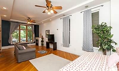 Living Room, 1422 N Western Ave, 1