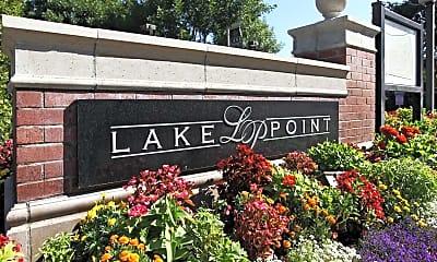 Community Signage, Lake Point, 1